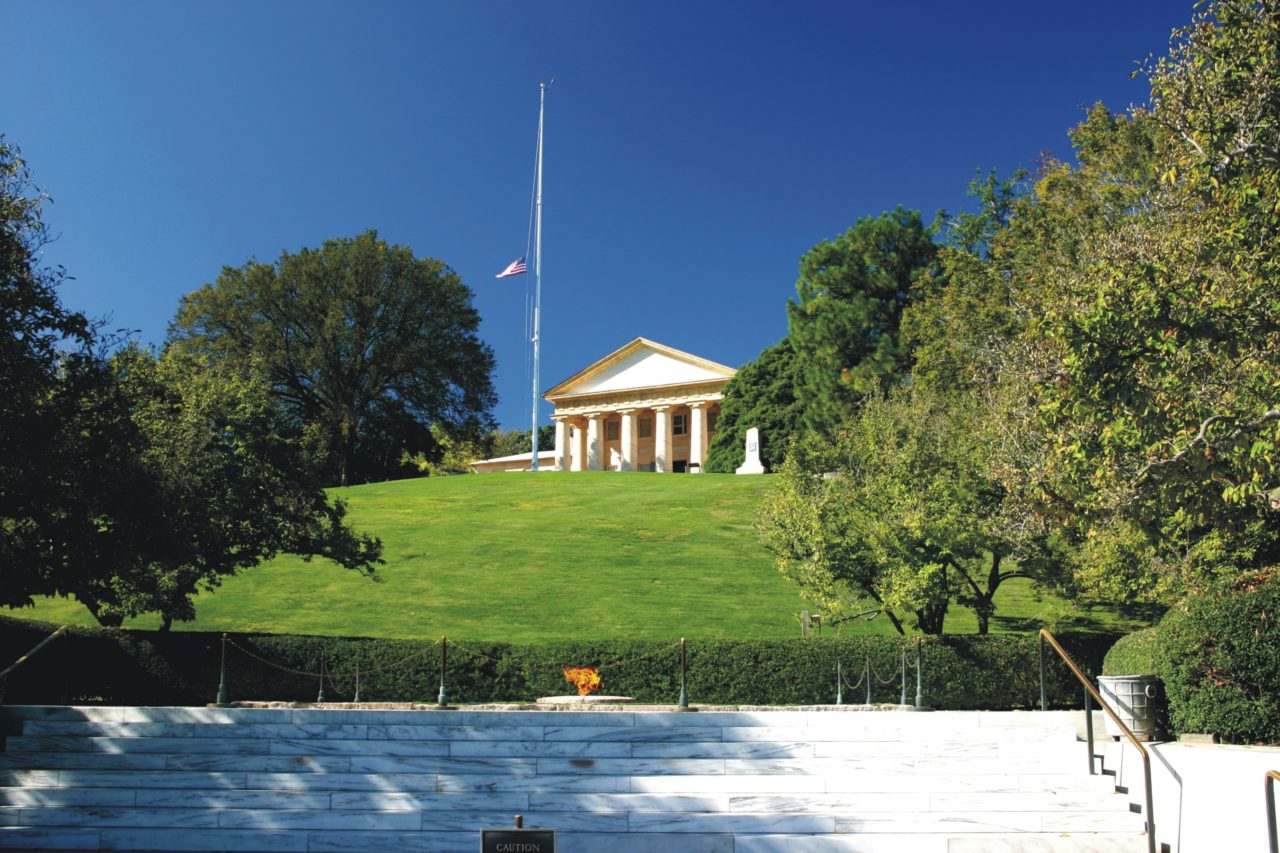 The JFK Gravesite-Arlington National Cemetery