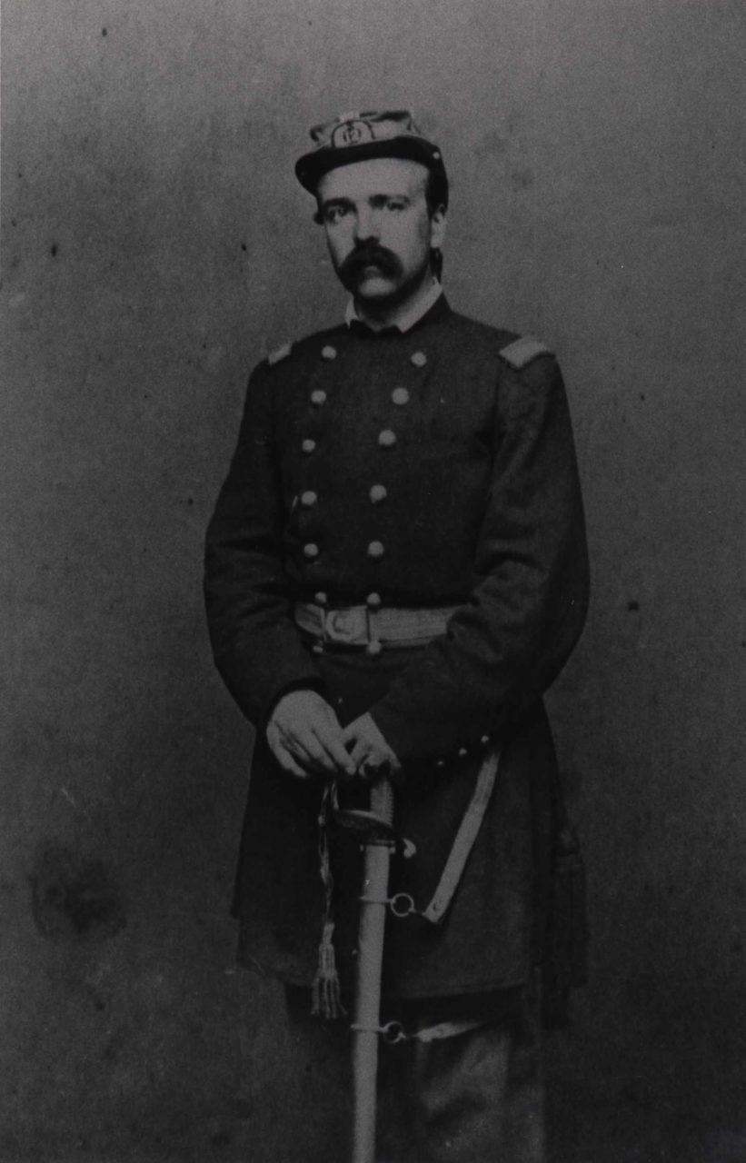 Daniel Butterfield as a colonel in the Twelfth N.Y. Militia