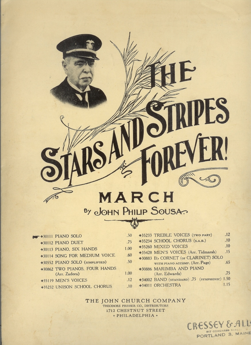 Cover to Stars and Stripes