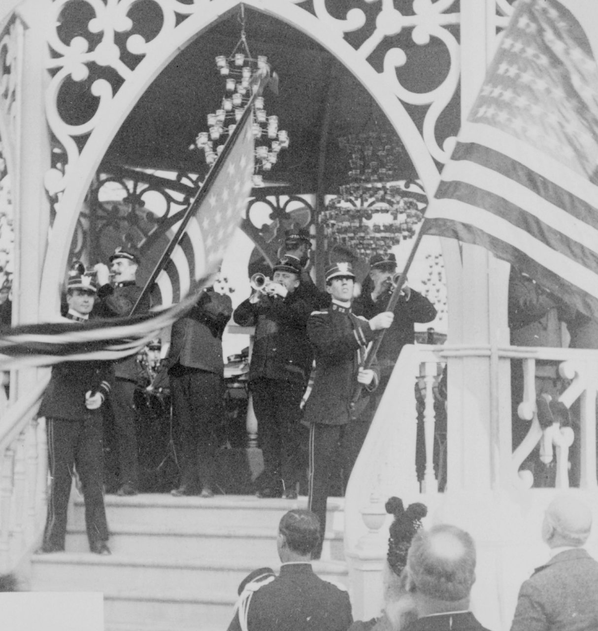 Sousa conducting Stars and Stripes Forever 1900