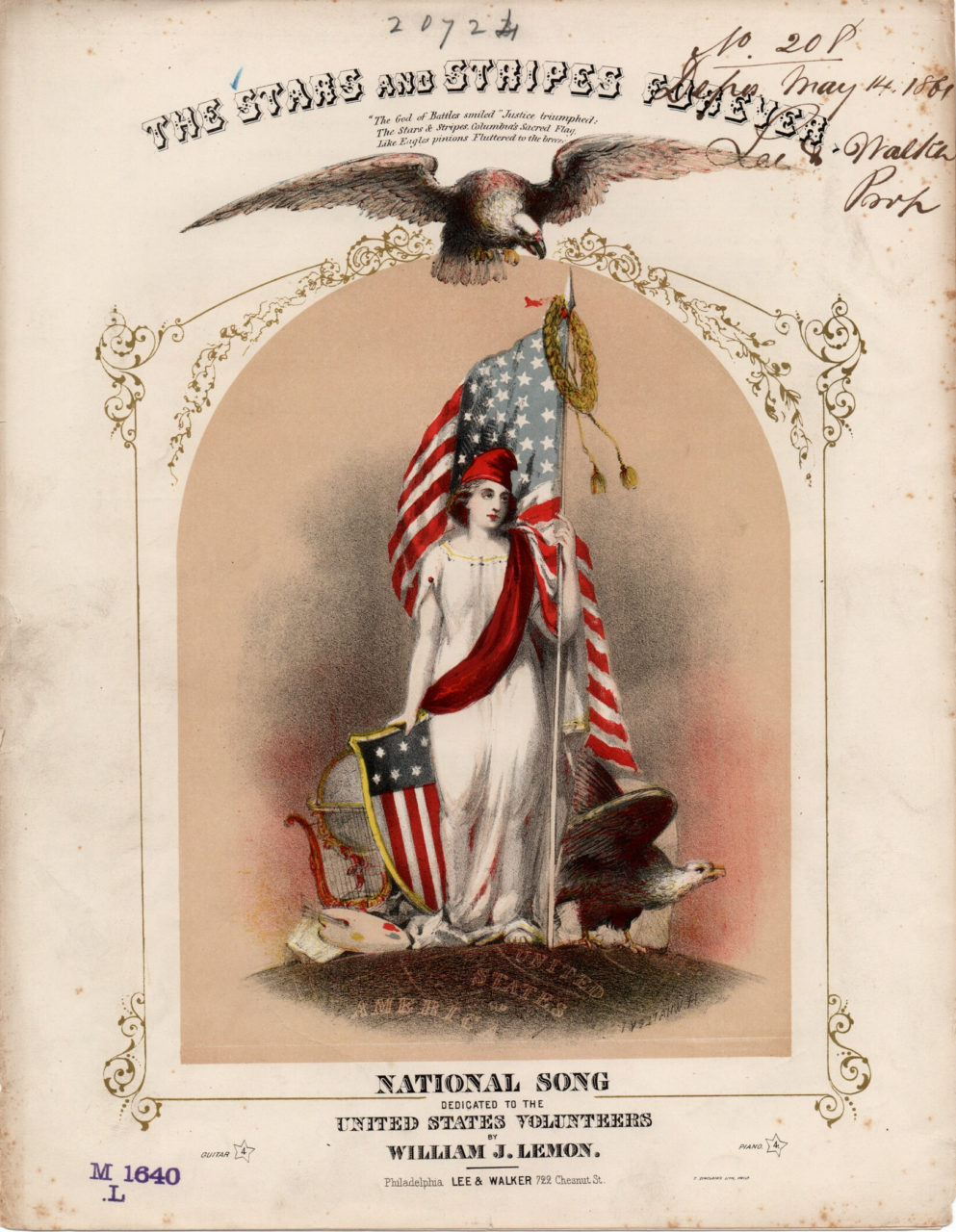 Stars and Stripes Forever 1861