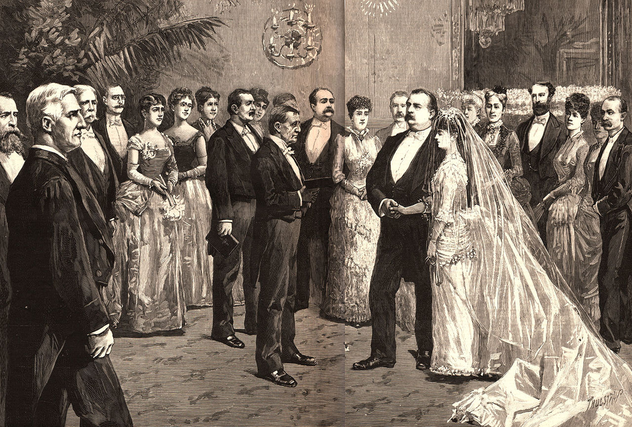 1886-Grover-Cleveland-Wedding