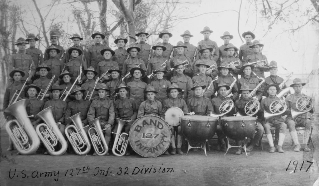 History of Bands in World War 1 Part 1 « Taps Bugler: Jari Villanueva